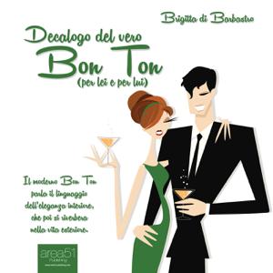 Decalogo del vero Bon Ton Libro Cover