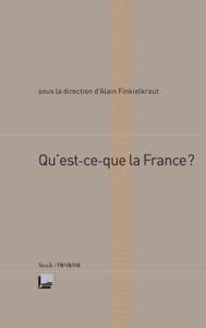 Qu'est-ce que la France La couverture du livre martien