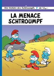 Les Schtroumpfs - tome 20 - La Menace Schtroumpf La couverture du livre martien
