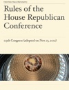 Rules Of The House Republican Conference For The 113th Congress