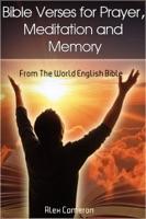 Bible Verses for Prayer, Meditation and Memory