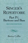The Singers Repertoire Part IV