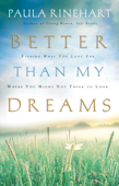 Better Than My Dreams Book Cover