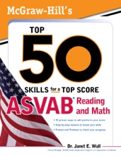 McGraw-Hill's Top 50 Skills For A Top Score: ASVAB Reading and Math