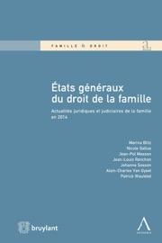 Tats G N Raux Du Droit De La Famille