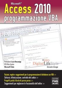 Access 2010 programmazione VBA Book Cover