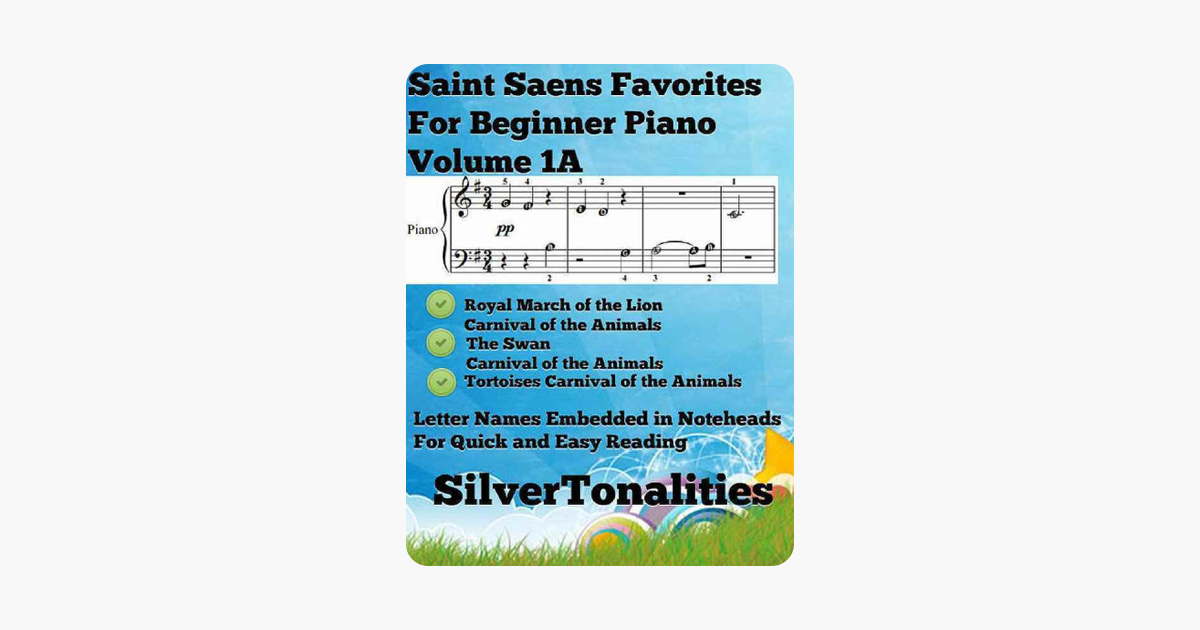‎Saint Saens Favorites for Beginner Piano Volume 1 A