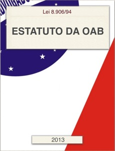 Estatuto da OAB 2013 Book Cover