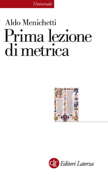 Prima lezione di metrica di Aldo Menichetti