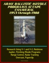 Army Ballistic Missile Programs At Cape Canaveral 1953 Through 1988 Research Using V-1 And V-2 Redstone Jupiter Pershing Missile Programs Range Control Radar Tracking Overcast Paperclip
