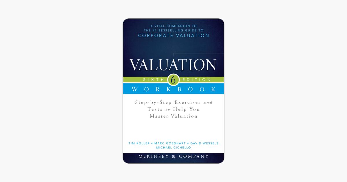 Valuation book mckinsey