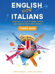 Corso di inglese, English for Italians Corso Base Copertina del libro