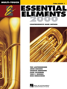 Essential Elements 2000 - Book 1 for Tuba (Textbook)