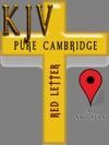 KJV Pure Cambridge Edition Red Letter