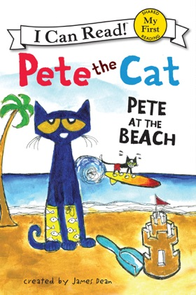 Pete the Cat: Pete at the Beach image