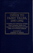 Index to Fairy Tales, 1987-1992, Sixth Supplement