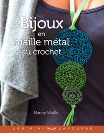Bijoux en maille métal au crochet