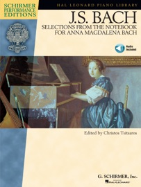 J.S. BACH - SELECTIONS FROM THE NOTEBOOK FOR ANNA MAGDALENA BACH (SONGBOOK)
