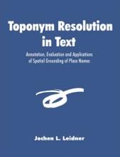 Toponym Resolution In Text