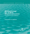 Methodology For A New Microeconomics Routledge Revivals