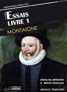 Essais livre 1 (Français moderne et moyen français comparés) Couverture de livre