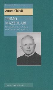 Primo Mazzolari Copertina del libro