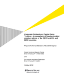 Corporate Dividend and Capital Gains Taxation