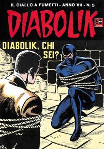 DIABOLIK (107) Libro Cover