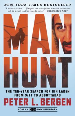 Manhunt - Peter L. Bergen book