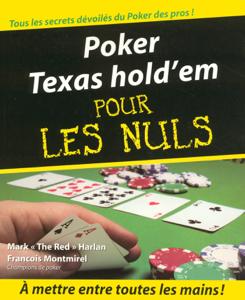 Poker Texas hold'em Pour les Nuls La couverture du livre martien
