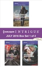 Harlequin Intrigue July 2016 - Box Set 1 Of 2