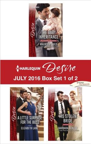Maureen Child, Elizabeth Lane & Barbara Dunlop - Harlequin Desire July 2016 - Box Set 1 of 2