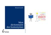 Mon dictionnaire des homonymes