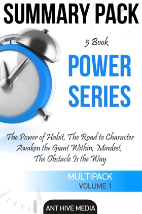 Power Series: The Power of Habit, The Road to Character, Awaken the Giant Within, Mindset, The Obstacle is The Way Summary Pack image