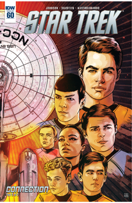 Star Trek #60 - Mike Johnson book