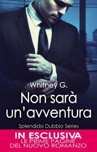 Non sarà un'avventura Book Cover