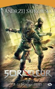 Le Sang des elfes La couverture du livre martien