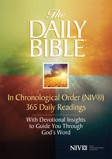 The Daily Bible In Chronological Order Niv Von F Lagard
