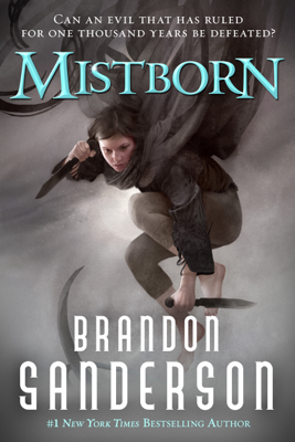 Mistborn - Brandon Sanderson book