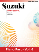 Suzuki Piano School - Volume 6 (New International Edition)