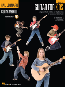 Guitar for Kids Libro Cover