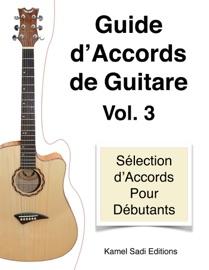 GUIDE D'ACCORDS DE GUITARE VOL. 3