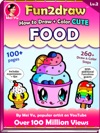 How To Draw  Color Cute Food - Fun2draw Lv 2