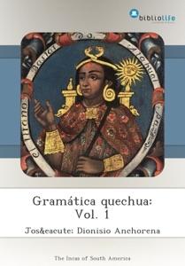 Gramática quechua: Vol. 1 Book Cover