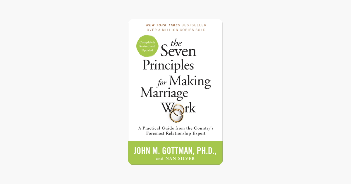 The Seven Principles for Making Marriage Work - John Gottman Ph.D. & Nan Silver