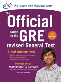 GRE The Official Guide to the Revised General Test, Second Edition book