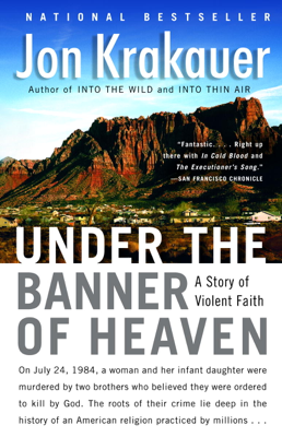 Under the Banner of Heaven - Jon Krakauer book