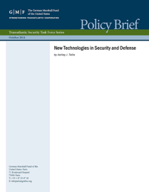 New Technologies in Security and Defense book