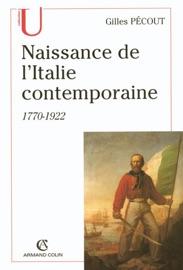 Naissance De L Italite Contemporaine
