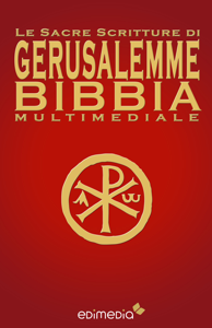 Le Sacre Scritture di Gerusalemme Bibbia Multimediale Libro Cover